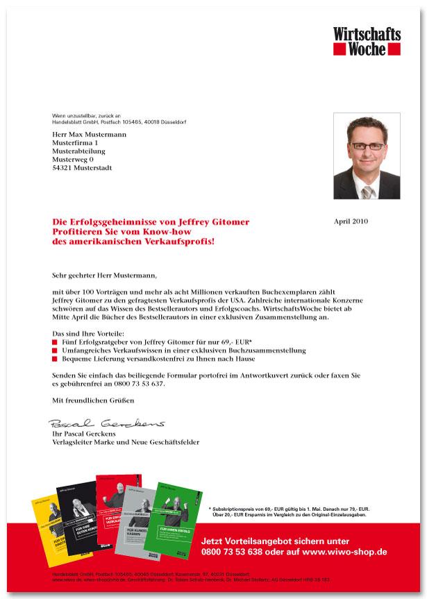 Handelsblatt_Gitomer_Mailing_Anschreiben